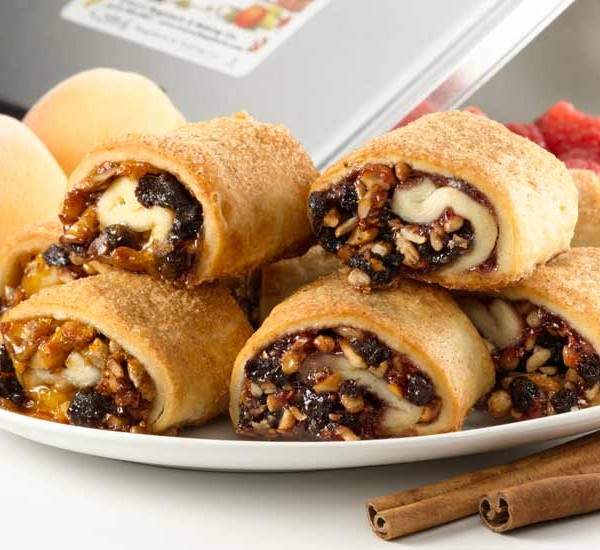 Raspberry & Apricot Rugelach