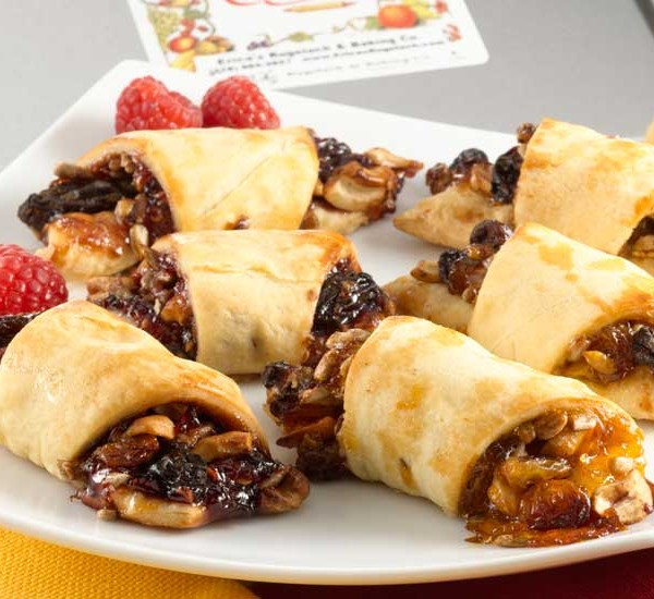 Gourmet Crescent Style Rugelach Raspberry & Apricot